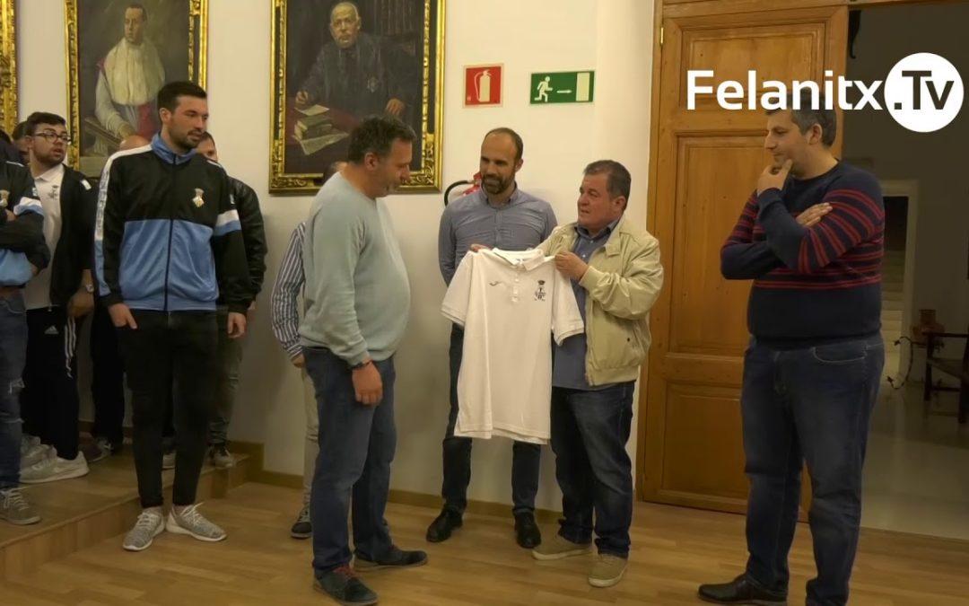 FESTA AL CE FELANITX PER JUGAR LLIGUETA A SEGONA B