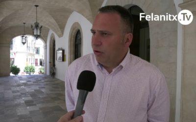 JOAN XAMENA RENÚNCIA A L'ACTA DE REGIDOR