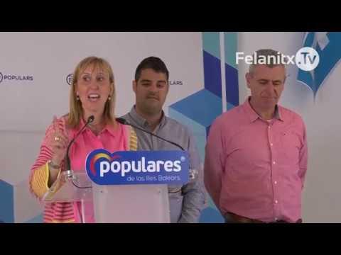 PRESENTACIÓ CANDIDATURA PP ELECCIONS FELANITX