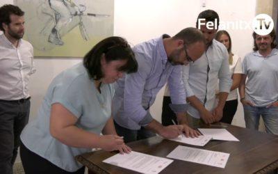 FIRMA PACTE AJUNTAMENT PSOE-BLOC-PI