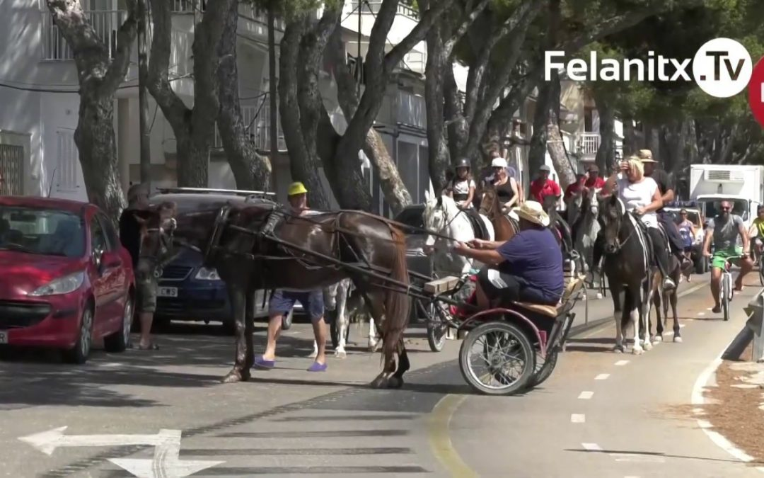 ANADA EN CARRO DE FELANITX A CALA MARÇAL, 2019