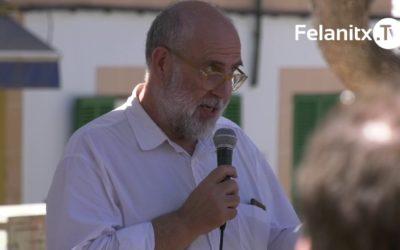 CONCENTRACIÓ A PORTOCOLOM PER DIR NO A HOTELS D'INTERIOR