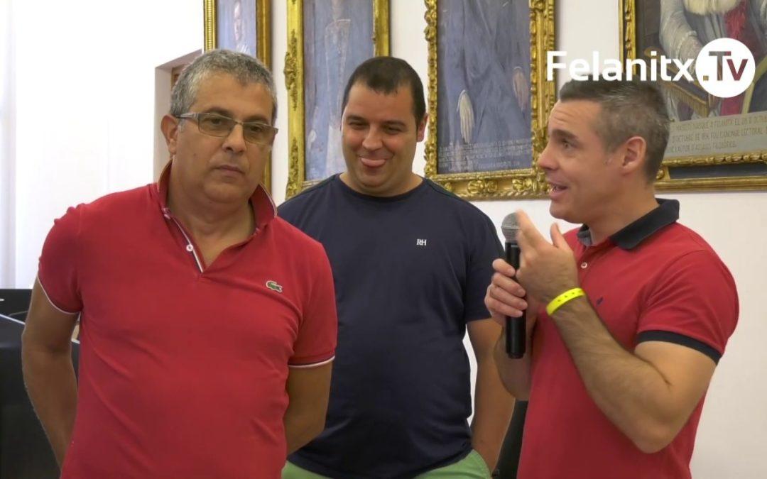 RECEPCIÓ GRUPS SARDENYA PARTICIPANTS MOSTRA FOLKLÒRICA
