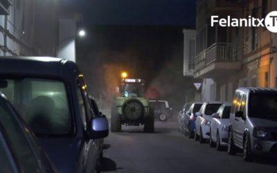 DESINFECTEN ELS CARRERS DEL MUNICIPI