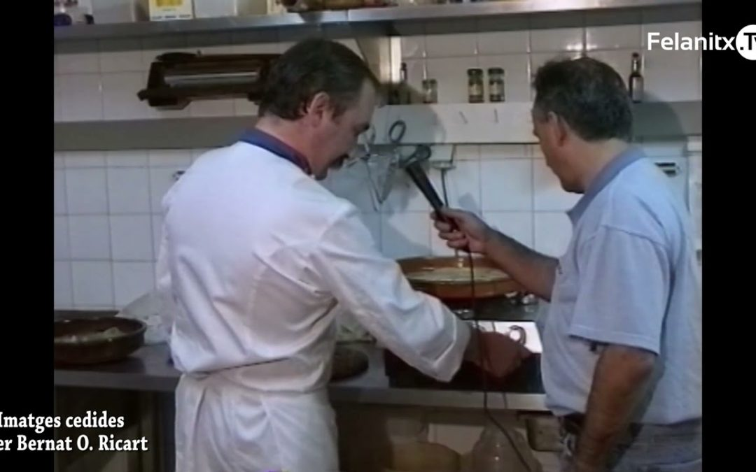 MENÚ DE CUINA.BACALLÀ AL PILPIL. RETROSPECTIVA DE TVF.